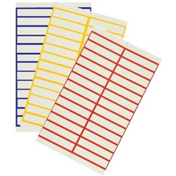 Crystalfile Title Strips for Suspension Files White, Pack of 50