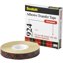 Scotch® 924 ATG Adhesive Transfer Tape 12.7mm x 33m