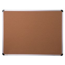 OfficeMax Cork Board Aluminium Frame 600x900mm