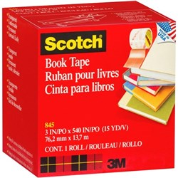 Scotch® 845 Book Repair Tape 76mm x 13.7m