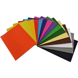 OfficeMax A3 125gsm 15 Assorted Colours Cover Paper, Pack of 500