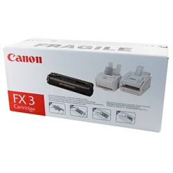 Canon FX-3 Black Fax Laser Toner Cartridge