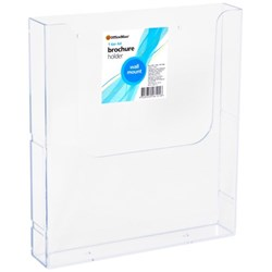 OfficeMax Brochure Holder Wall Mounted A4 1 Tier