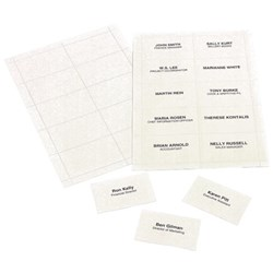 Rexel Convention Card Inserts for Holders, Pack of 250