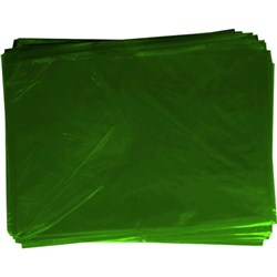 OfficeMax Cellophane 750x1000mm Green, Pack of 25
