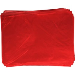OfficeMax Cellophane 750x1000mm Red, Pack of 25
