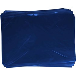 OfficeMax Cellophane 750x1000mm Dark Blue, Pack of 25