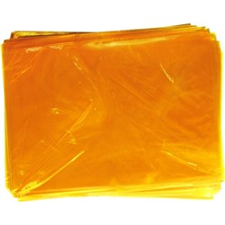 OfficeMax Cellophane 750x1000mm Yellow, Pack of 25