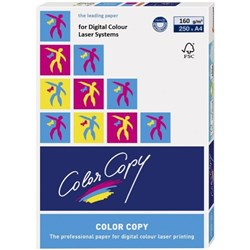 Color Copy A4 160gsm White Laser Paper, Pack of 250
