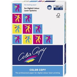 Color Copy A4 200gsm White Laser Card, Pack of 250