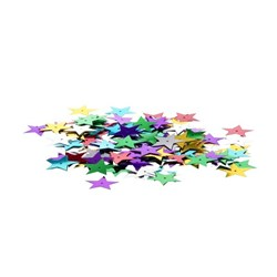 Sequin Stars Large Assorted Colours 25g Pack
