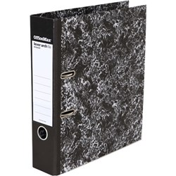 OfficeMax Lever Arch File A4 Mottled Black