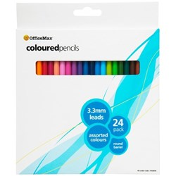 OfficeMax Coloured Pencils, Pack of 24