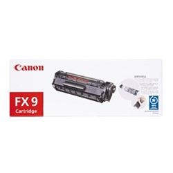 Canon FX-9 Black Fax Laser Toner Cartridge