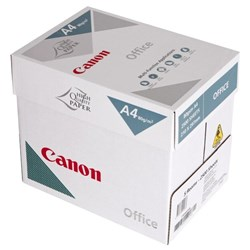 Canon Office A4 80gsm White Copy Paper, 5 Packs of 500