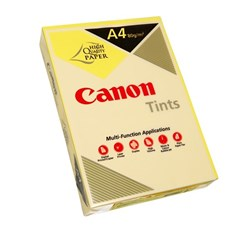 Canon A4 80gsm Canary Yellow Colour Copy Paper, Pack of 500