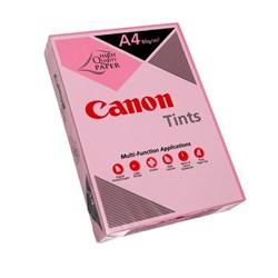 Canon Tints A4 80gsm Pink Colour Copy Paper, Pack of 500