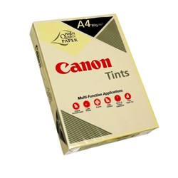 Canon Tints A4 80gsm Yellow Colour Copy Paper, Pack of 500