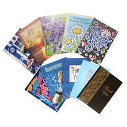 CCC Variety Pack Greeting Cards Assorted Designs, Pack of 10