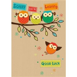 CCC A4 Farewell & Leaving Greeting Card