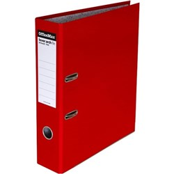 OfficeMax Lever Arch Board File A4 Red