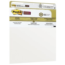 Post-it® 559 Super Sticky Easel Pad, 635x762mm Recycled 30 Sheets