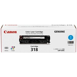 Canon CART318C Cyan Laser Toner Cartridge