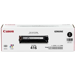 Canon CART416BK Black Laser Toner Cartridge