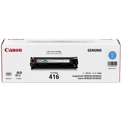 Canon CART416C Cyan Laser Toner Cartridge