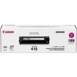 Canon CART416C Magenta Laser Toner Cartridge