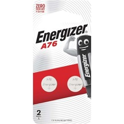 Energizer A76 Px76A Batteries, Card of 2