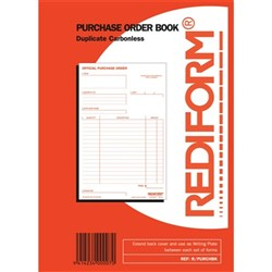 Rediform Purchase Order Book NCR Duplicate Set of 50