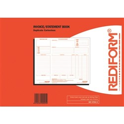 Rediform Invoice/Remittance Book NCR Duplicate