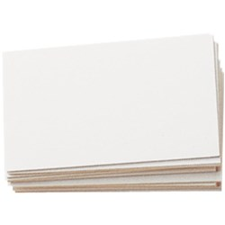 53U System Cards, Plain, 5x3 Inch, 125x75mm, Pack of 100