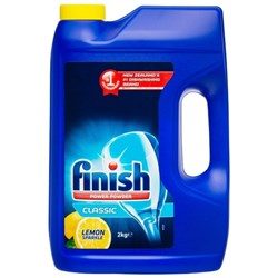 Finish Dishwasher Powder Lemon 2kg
