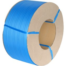 Premium Plastic Machine Strapping 12mmx3000m Blue
