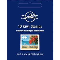 Croxley Kiwi Postage Stamps, Pack of 10