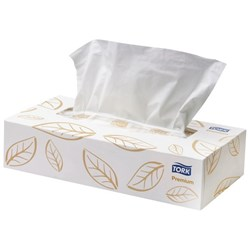 Tork Premium Soft Facial Tissues 2 Ply, Box of 100