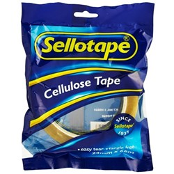 Sellotape 1105 Cellulose Tape 24mm x 66m Clear