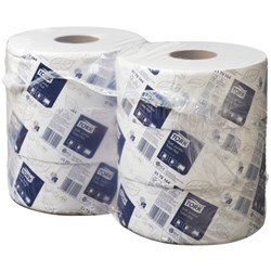 Tork T1 Advanced Jumbo Toilet Tissue 2 Ply 2179144 320m, Carton of 6