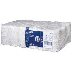 Tork Soft T4 Advanced Toilet Tissue 2 Ply 400 Sheet 0000234, Carton of 48