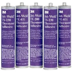 3M&#153 Jet Weld TE200 Thermoset Adhesive Glue 295ml Carton of 5