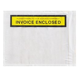 Labelopes Invoice Enclosed 150x115mm, Pack of 1000
