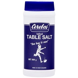 Cerebos Iodised Table Salt 300g