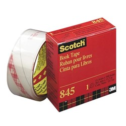 Scotch® 845 Book Repair Tape 38mm x 13.7m