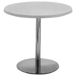 Accord Meeting Table 900mm Wineglass Base Grey