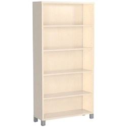Cubit Bookcase 4 Shelves 1800mm Nordic Maple