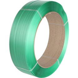 Tennex 2040 Smooth PET Polyester Strapping 16x0.9mmx1100m Green
