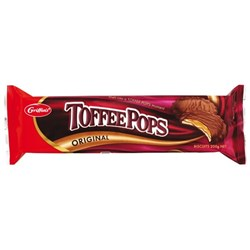 Griffin's Toffee Pops Original Chocolate Biscuits 200g