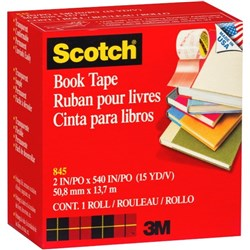 Scotch® 845 Book Repair Tape 51mm x 13.7m